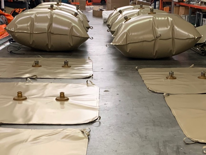 250 Gallon Fuel Bladders for US Army