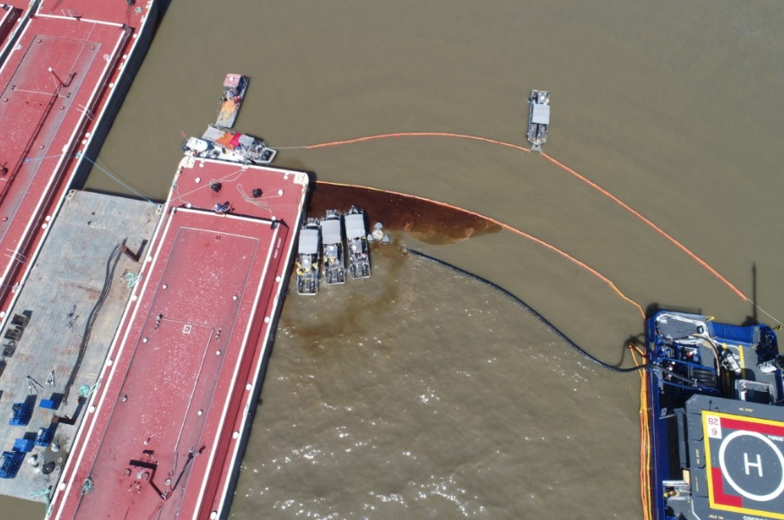 Houston Ship Channel Collision