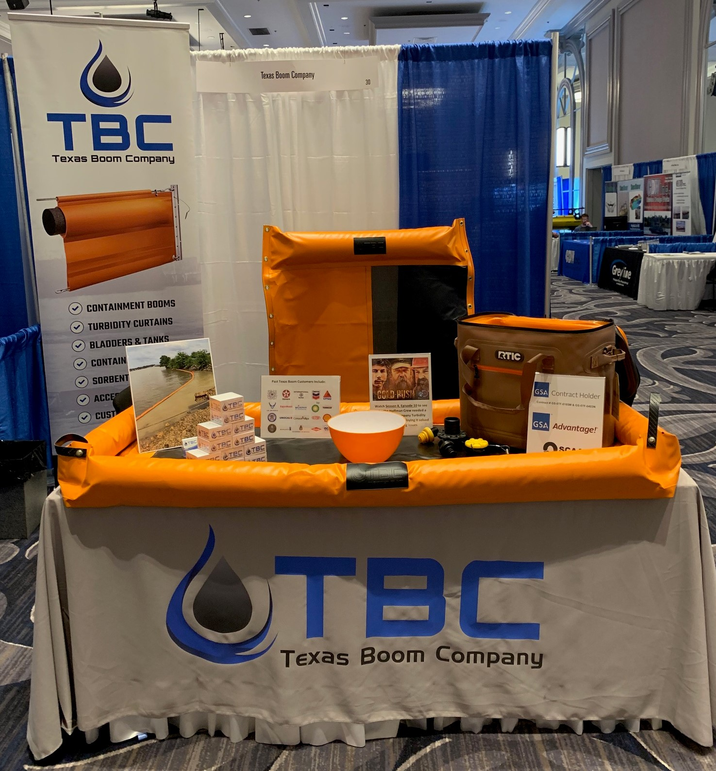 TBC Displaying at WEDA Dredging Summit & Expo '19