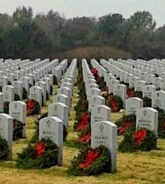 Texas Boom Sponsors Wreaths Across America