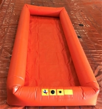 Inflatable Wall Decontamination Pools